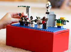 LEGO Travel Box in Entertainment, books and tales for babies and kids This would be great for quiet time activity.