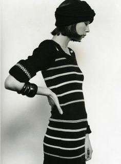 Via lalaforfashion // early-70s Sonia Rykiel  (Top 3 of all time pour moi)