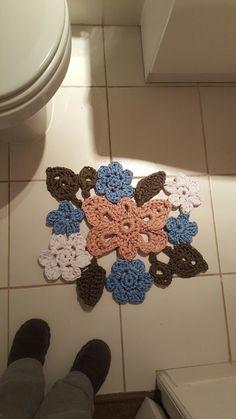 Pisa Pié Baño, trapillo crochet , D'Martina
