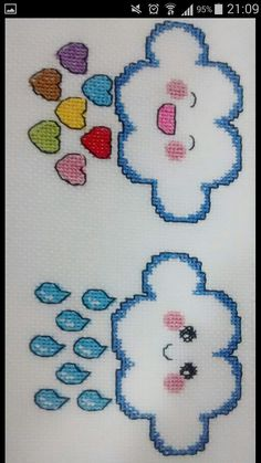 Brick Stitch, Elsa, Diy And Crafts, Horror, Nerd, Cross Stitch, How To Make, Fictional Characters, Cloud