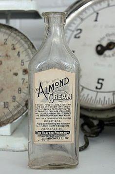 Almond Cream Bottle...
