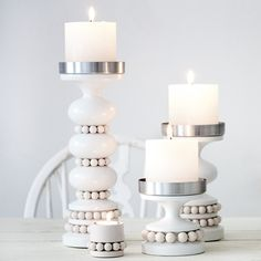 I got a middle-sized candle holder as a x-mas present and now dreaming about next one. Also a tray appeals to the eye. Finnish design By Aarikka. Candle Holders, Scandinavian Design, Lantern Candle Holders, Decor, Home, Candlelight, Candles, Nordic Design, Home Decor