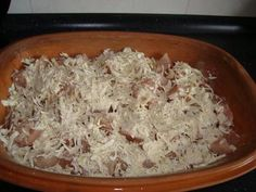 Rezept: Zwiebel-Sahne-Hähnchen aus dem Römertopf Bild Nr. 6