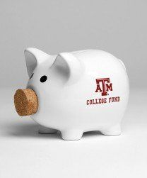 Ceramic piggy bank!