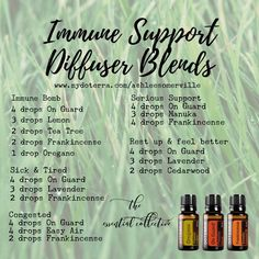 2-21: Rest Up and Feel Better - doTERRA | Immune Support Diffuser Blends|