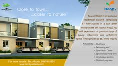We believe in complete transparency @RamkySereneWoods - ‪#‎Bengaluru‬, we have ensured that our project has all environmental clearances so that you can enjoy the comforts of 'Your Own Home' without any further hassle. For More Info Visit - www.ramkyestates.com