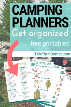 Make planning and packing easy by using this free printable family camping checklist. You'll also get meal planning sheets, & shopping lists too! Camping Checklist Family, Camping Packing, Camping List, Camping Stove, Camping Essentials, Camping Meals, Family Camping, Tent Camping, Outdoor Camping