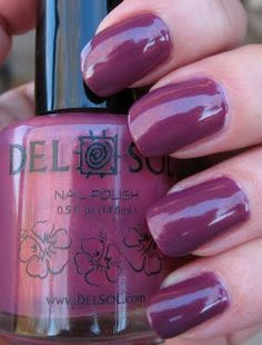Color changing nail polish by Del Sol Color Change Nail Polish, Gel Color, Nail
