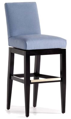 Fine Upholstered Accents Mann Memory Swivel Barstool by Jessica Charles