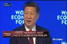 Chinese President Xi Jinping warns that populist approaches can lead to war and poverty. Our World, Presidents, China, War, Porcelain Ceramics, Porcelain