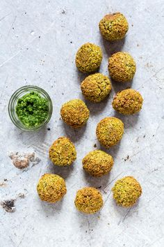 Try these baked wild garlic falafels recipe. These healthier falafels are vegan & gluten-free and made with ramps / wild garlic, chickpeas and almond flour. Gluten Free Recipes For Kids, Vegan Recipes Videos, Whole Food Recipes, Dog Food Recipes, Cooking Recipes, Vegetable Recipes, Vegetarian Main Dishes, Vegetarian Recipes Easy, Healthy Recipes