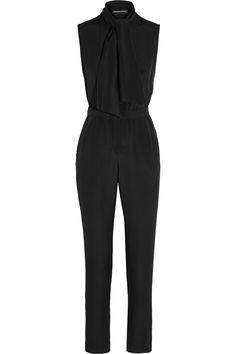 e562ca470e2d Vanessa Seward - Boulogne pussy-bow silk crepe de chine jumpsuit