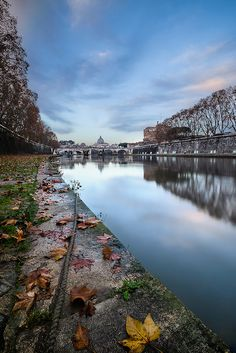 autumn sunrise in #Rome, #Italy #Lazio