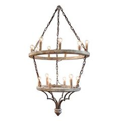 Joselyn Grand 15 Light French Country Cottage Rustic Chandelier Chandelier