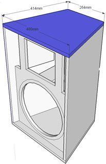 CLICK PARA AMPLIAR 12 Inch Speaker Box, Speaker Box Diy, Dj Speakers, Speaker Plans, Speaker Box Design, Audio Amplifier, 12 Inch Subwoofer Box, Diy Subwoofer, Subwoofer Box Design
