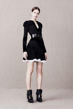 Alexander McQueen Pre-Fall 2013 - Slideshow - Runway, Fashion Week, Reviews and Slideshows - WWD.com