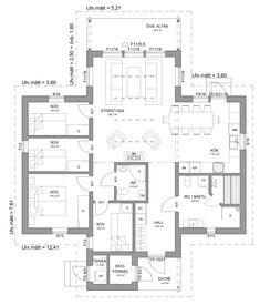 Abisko 124 – Fjällhus från Hudikhus