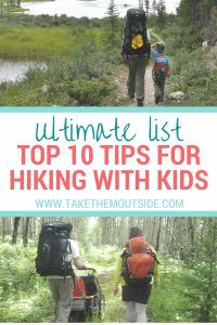top tips for hiking with kids | how to have fun and keep motivated when hiking with kids and children | #hikingwithkids #takethemoutside #hikingtips