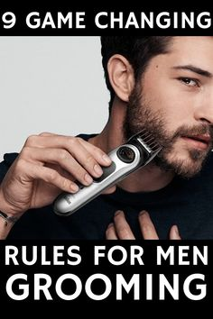 Diy Beauty, Beauty Hacks, How To Look Attractive, 9 Game, Men Beard, Game Changer, Men's Grooming, Life Tips, Everyone Else