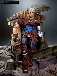 Cable : 90's Style (Marvel Legends) Custom Action Figure by loosecollector