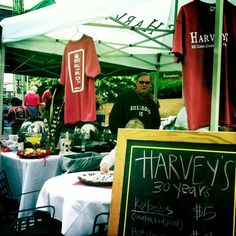 April's Cotton District Arts Festival always includes a showcase of great local eats like Harveys kabobs. Yum!
