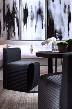MIRTHA dining chair by MICHAEL DAWKINS