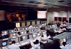 Original NASA Mission Control Room