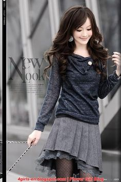 Korean Fashion for teens 2012 - Best Winter Clothes for teens 2012
