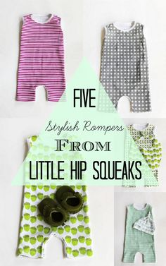 5 Must-Have Stylish Rompers from Little Hip Squeaks