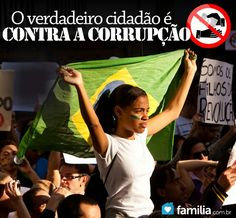 Diga NÃO para a CORRUPÇÃO! #acordabrasil #brazil