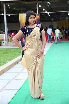Gemini tv & Rednose Entertainment Organized by Narilokam Fashion Show Satin Saree, Fashion Show, Fashion Outfits, Fancy Sarees, Most Beautiful Indian Actress, Indian Beauty Saree, Beautiful Saree, Beautiful Celebrities, Indian Outfits