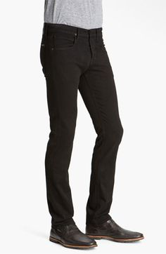 $165, Byron Straight Leg Jeans by Hudson Jeans. Sold by Nordstrom. Click for more info: http://lookastic.com/men/shop_items/146401/redirect