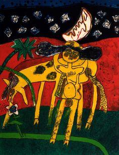Online veilinghuis Catawiki: Corneille - La nuit étoilée