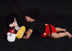 Baby Boy Baby photos photo shoot 1 month two three four five six 2 3 4 5 6 6 Month Pictures, 1 Month, Baby Photos, Photo Shoot, Mickey Mouse, Baby Boy, Boys, Disney, Fun