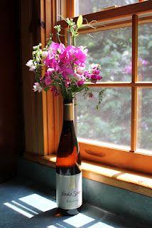 Finger Lakes Flower Vase