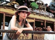Marguerite in the movie my Jean-Jacques Annaud based on the novel by Marguerite Duras: L'Amant.