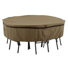 Large Round Garden Table Cover