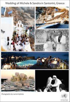 Wedding in #Santorini.event design StellaAndMoscha.com
