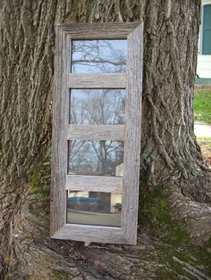 4 Panel 5x7 Reclaimed Rustic Barn Wood Collage Picture Frame on Etsy, $45.00