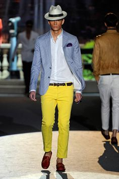 DSQUARED2 2012 SPRING SUMMER COLLECTION #MAN #FASHION