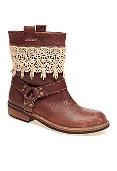 Latigo Zephyr Lace Trim Bootie #belk #boots
