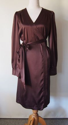 New! Leona Edmiston Gorgeous Wrap Dress! Size 14 (3) ♫ in Clothing, Shoes…