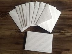handmade envelopes, set of 10 envelopes, music ephemera, music envelopes, envelopes, music sheet envelopes, stationery, by PinkyPromiseBargains on Etsy