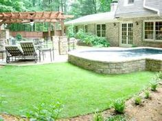 Above Ground Pool Landscape Designs - Bing Images