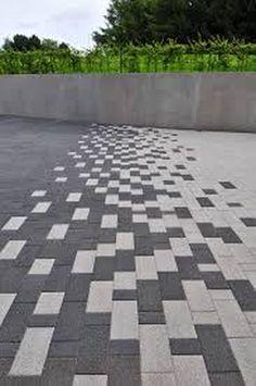Ideas For Urban Landscape Architecture Design Paving Pattern Paver Patterns, Floor Patterns, Pavement Design, Paver Designs, Paving Design, Terrace Design, Paving Ideas, Driveway Design, Block Paving Driveway