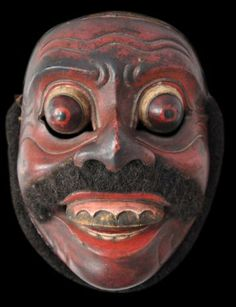 Indonesian Masks   Balinese or Lombok Dance Mask (Topeng), 19th century