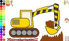 Hasil gambar untuk gambar kendaraan konstruksi untuk mewarnai