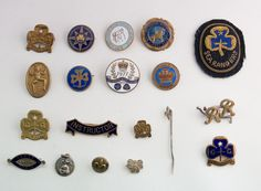 JOB LOT OF VINTAGE BADGES, GIRL GUIDES, PONY CLUB, SEA RANGERS, ETC in Collectables, Badges/ Patches, Other Badges | eBay Guide Badges, Brownie Badges, Girl Guides, Cubs, Flags, Ranger, Brownies, Pony, Patches