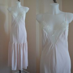 Free Shipping Vintage Pink Nightgown Vintage by MadMakCloset