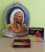 Great Belgian advertisement lot from cogetama cigars,  the cardboard aswell as the Tins are in my Collection